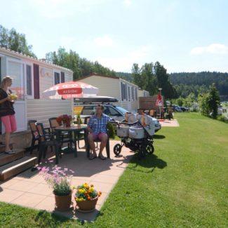 Camping Resort Frymburk - mobil homes