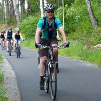 Camping Resort Frymburk - cycle path
