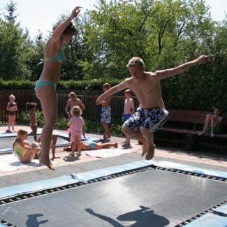 Camping Oase Praha - trampolines